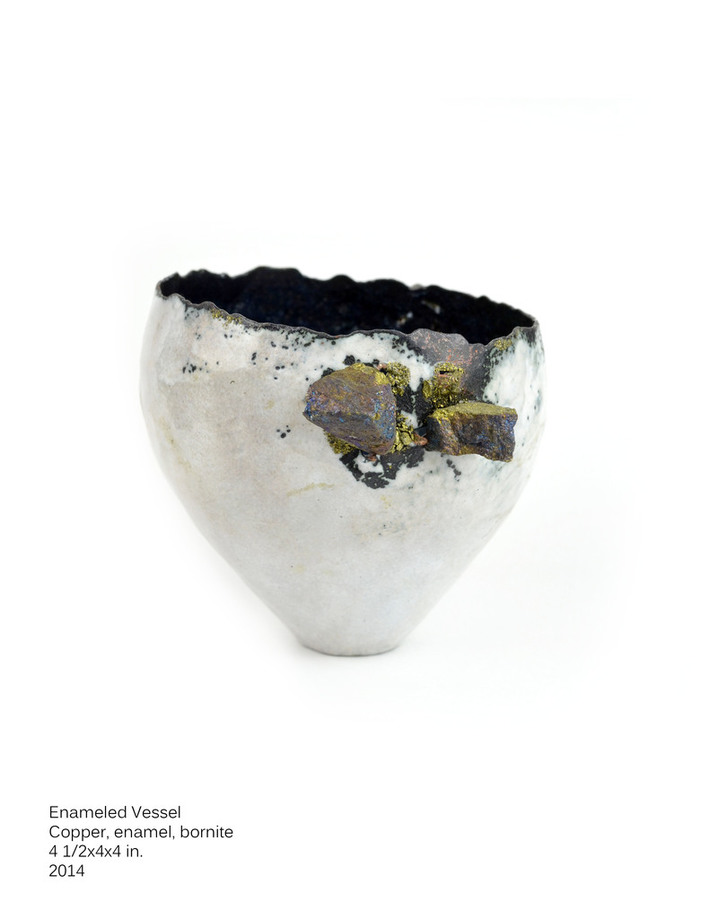 Enameled Vessel, 2014