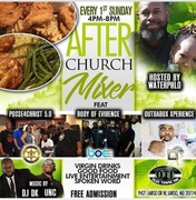 After Church Mixer - Every 1st Sunday of the Month