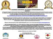 CONGRESO UNIVERSAL DE POESIA HISPANOAMERICANA