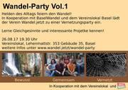 Wandel.jetzt - Wandel-Party