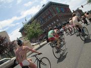 B-HAM's 9th Naked Bike Ride