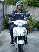 me with my motor bike