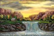 Ave Hurley -Brentons Waterfalls-