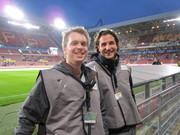 Behind the Scenes - Voetbalwedstrijd