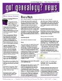 "September Edition of the ""Got Genealogy News"""
