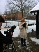 Opnames voor Arnhem spreekt, onderwerp: de plofkip.