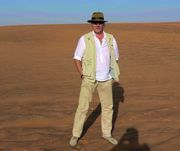 A shoot in the desert of Dubai (UAE)