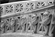 Athens National Library Steps - Griffins