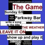 THE GAME at THE PARKWAY BAR