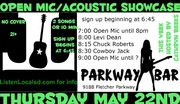 Open Mic & Acoustic Nights
