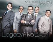 Legacy Five to Perform at Mount Miguel