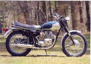 British Invasion Motorcycle Display