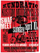 Kundratics Motorcycle & Hot Rod Spring Swap Meet