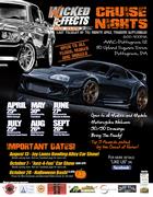 WECC car show at Jay Lanes Bowling Center