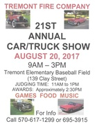 Tremont Fire Company Annual Car/Truck Show