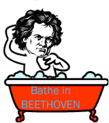 """Bathe in Beethoven"" Musical performance"