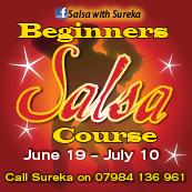 3rd BEGINNERS SALSA COURSE!!