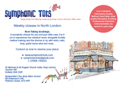Symphonic Tots Classes in Palmers Green and Enfield