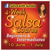 BEGINNERS AND INTERMEDIATES 4 week SALSA COURSE!