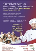 """Trinity at Bowes Centre Plus -""""Community Dining Event"""""""