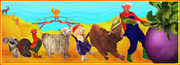 Free Karamel Kids: Farmer Who's Enormous Turnip & The Three Pigs