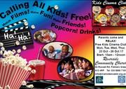 Half-Term Kids Cinema Club