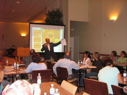 Dr. Padro delivering a Leadership Workshop in Corpus Christi, Texas