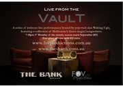 Live from the Vault: a singer/songwriter showcase