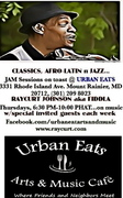 Urban Eats Music cafe