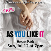 """Shakespeare by the Sea Presents: """"As You Like It"""""""
