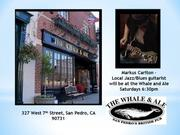 Markus Carlton, Guitarist at The Whale and Ale