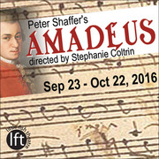 Amadeus by Peter Shaffer – Mozart's rise to fame as seen by his jealous rival, opens Sep 23