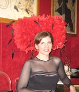 At the Moulin Rouge in Paris, France.