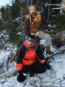 "Jesse Kamien and Lars Christensen  in ""Father's Gun"" by James Poirier and Travis Tyler"
