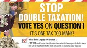 Double Tax Ballot Question Ad