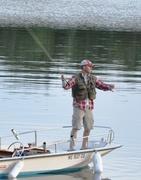 Flyfishing - doublehauling