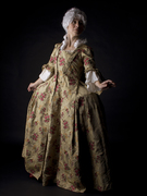 Colonial upper class lady. by Charlotte Dore