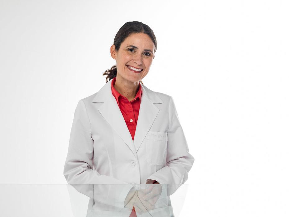 Monica Saviolakis Lab Coat
