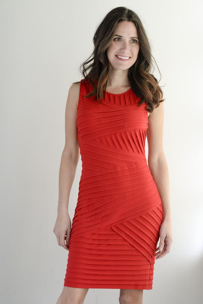 Monica Sav Red Dress