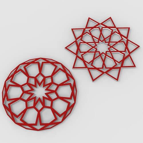 Simple Islamic Geometric Pattern
