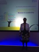 Dr Neslyn Speaking to Women Leaders