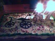 Homemade birthday cake from my wife.