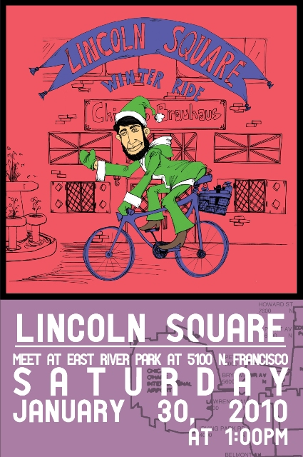 Lincoln Square Winter Tour Poster