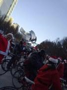 Santas at Millineum Park