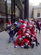 Pile o' Santas
