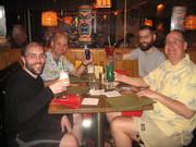 Ryan, John, Alex and Chris at the Breakers on the Tour de Tiki