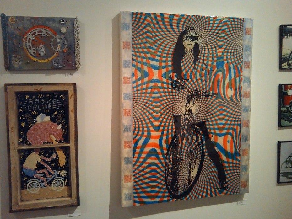 Hanging next to my favorite piece 2013 BW art