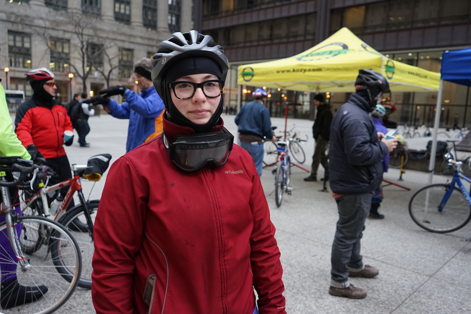"""This woman runs a blog for """"shorter"""" bikers - 5'2 and under!"""