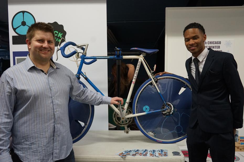 Chicago Bike Winter Art Show 2015