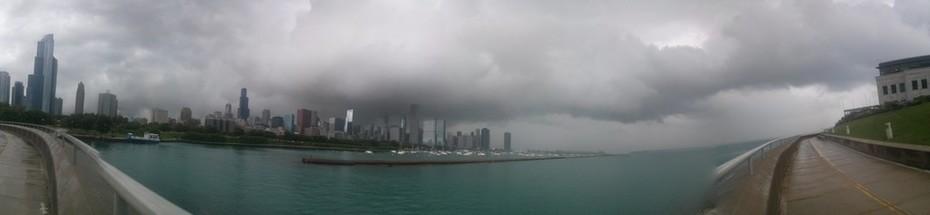 Dark Clouds over Chicago